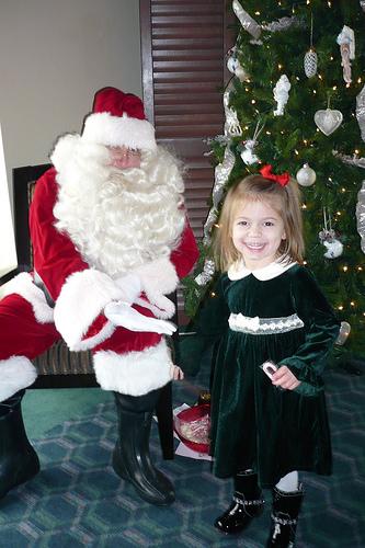 Alana and Santa