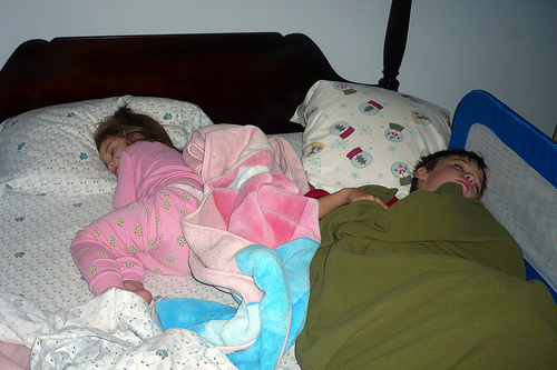 Slumbering Siblings