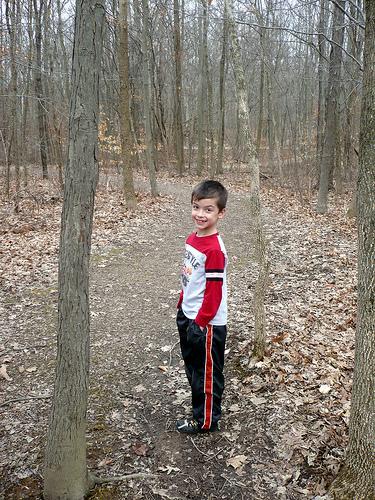 Carson on a Hike