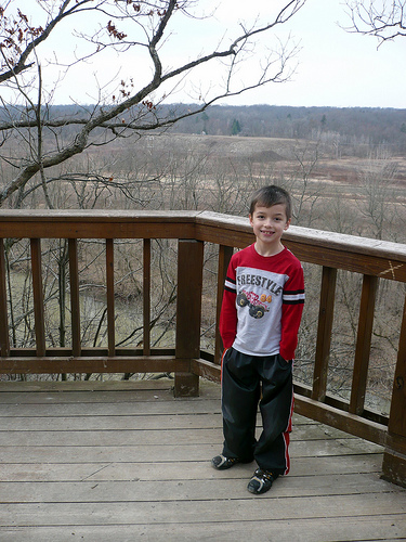 Carson at HighbanksMetroPark