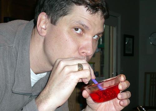 Eating Jello through a Straw