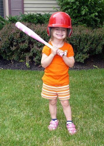 Alana the Baseball Player