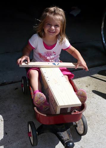 Alana -- Future Soap Box Derby Racer