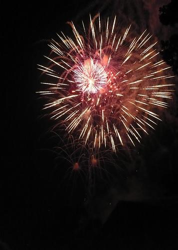 Plain City, Ohio Fireworks -- July 4, 2009