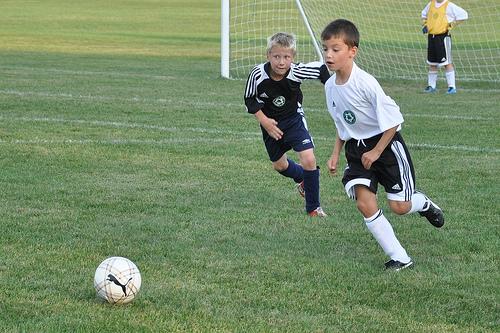 Carson at soccer