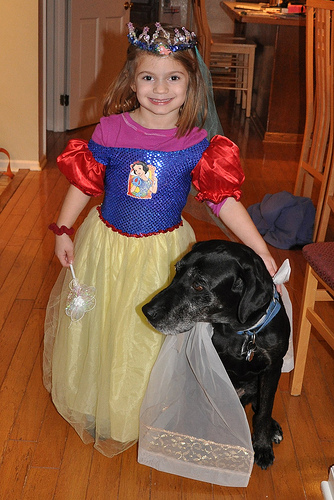 Snow White and Her Black Bear