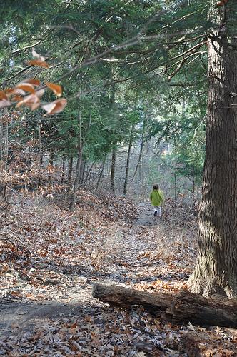 Alana Walks Around Rose Lake