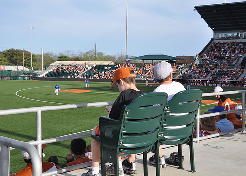 Benton and Jack and UT Baseball