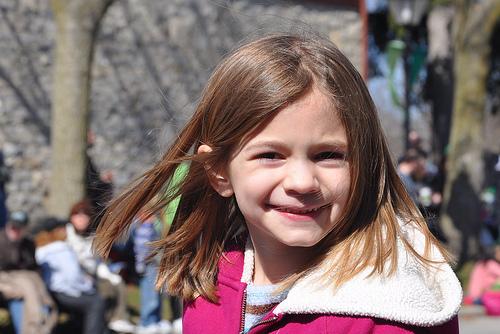 Alana at the St. Patrick's Day Parade