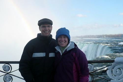 Julie and Tim at Niagara Falls