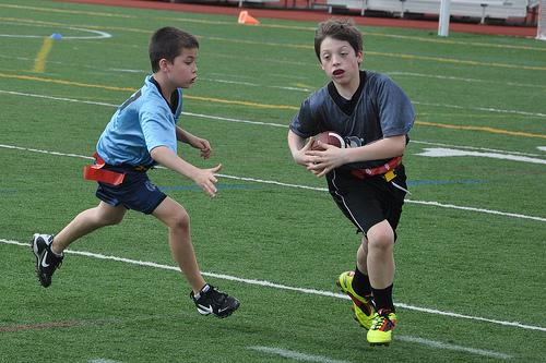 Chasing down an interception run-back