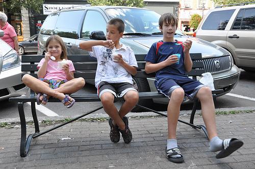 Ice Cream Break in Cooperstown