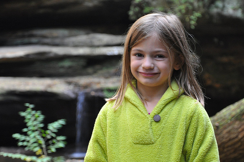 Alana at Old Man's Cave