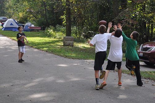 2-on-2 Touch Football