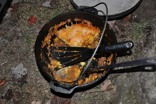 Dutch Oven Tamale Pie
