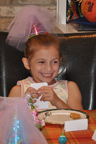 Alana's Belated 6th Birthday Tea Party