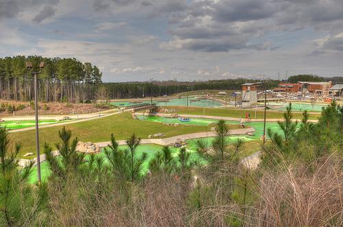U.S. National Whitewater Center, Charlotte, NC -- St. Patrick's Day 2012